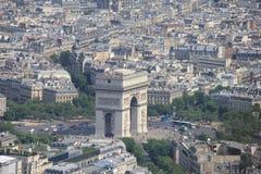 Arc de Triomphe royalty free stock photo