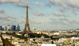 View on Eiffel Tower Royalty Free Stock Photos
