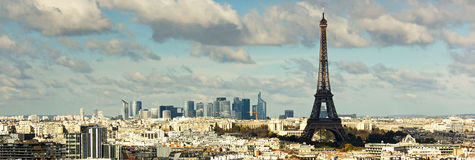 View on Eiffel Tower Stock Photography