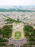 View from Eiffel Tower Royalty Free Stock Photos