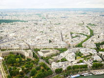 View from Eiffel Tower Stock Photography
