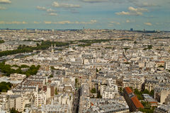 View  from the Eiffel Tower Stock Image