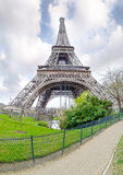 View of the Eiffel Tower Stock Photos