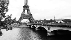 View of the Eiffel Tower in Paris Stock Photos