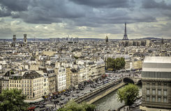 View on Eiffel Tower in  Paris Royalty Free Stock Photos