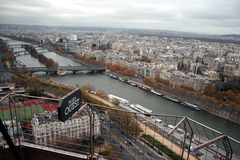 View from eiffel tower Stock Photo