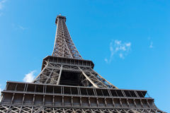 View on Eiffel Tower in Paris. France Royalty Free Stock Image