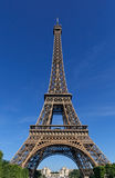 View on Eiffel tower Royalty Free Stock Image