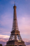 A view of the Eiffel Tower in Paris, France Stock Photography