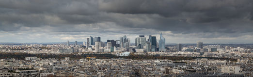 View from Eiffel Tower, Paris France Stock Photography
