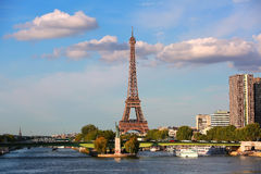 View on Eiffel Tower, Paris, France Stock Photos
