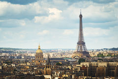 View on Eiffel Tower, Paris, France Stock Image