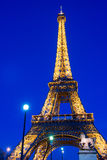 View on Eiffel Tower in Paris, France Stock Images