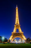 View on Eiffel Tower in Paris, France Royalty Free Stock Photos