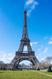 View on Eiffel Tower in Paris, France Royalty Free Stock Image
