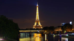 View on Eiffel Tower, Paris, France Stock Photography