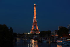 View on Eiffel Tower, Paris, France Stock Images