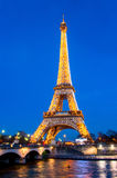 View on Eiffel Tower in Paris, France Royalty Free Stock Photo
