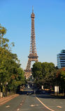 View on Eiffel Tower, Paris, France Royalty Free Stock Photography