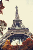 View of Eiffel Tower Royalty Free Stock Photography