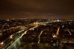 View from the Eiffel tower Stock Photography