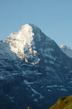 View of the eiger. View from bort to the Eiger Stock Image