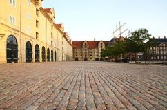 A view of the Eigtveds pakhus in Christianshavn, Copenhagen, Denmark Stock Photography