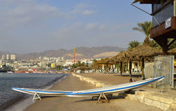 View on Eilat and the Red sea Stock Photography