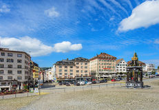 View in Einsiedeln, Switzerland Royalty Free Stock Photography