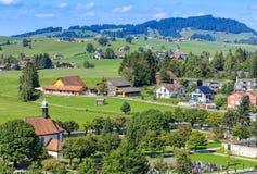 View in Einsiedeln, Switzerland Royalty Free Stock Photography
