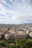 View of Eixample from Barcelona city on a sunny day Stock Image