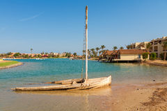 View of El Gouna. Egypt Stock Photography