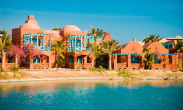 View from El-Gouna Resort Royalty Free Stock Photos