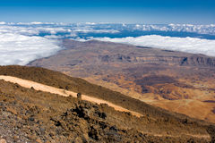 View from El Teide Stock Photos