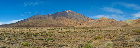 View of el teide volcano Stock Photo
