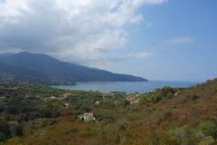 View of Elba Island Royalty Free Stock Images
