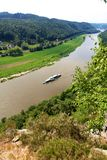View on Elbe Royalty Free Stock Image