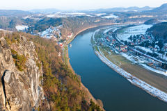 Elbe River Stock Image