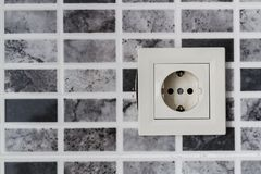 View of an Electrical Outlet Stock Images