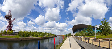 View of the Elizabeth Olympic Park. Stock Photo