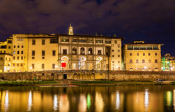 View of embankment in Florence Stock Images