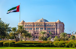 View of Emirates Palace in Abu Dhabi Royalty Free Stock Photography