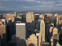 View from Empire State buildin Royalty Free Stock Photo