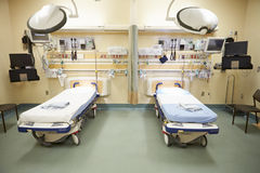 View Of Empty Emergency Room Royalty Free Stock Images