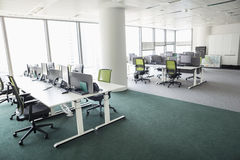 View of empty office royalty free stock image