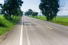 View of empty Road Stock Photos