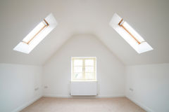 View Of Empty Room In Modern Home Stock Photo