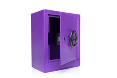 View of an empty safety deposit safe Royalty Free Stock Photos