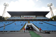 View on the empty stands Royalty Free Stock Photography