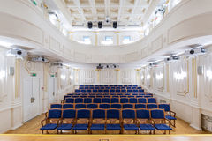 View of an empty theatre Stock Images